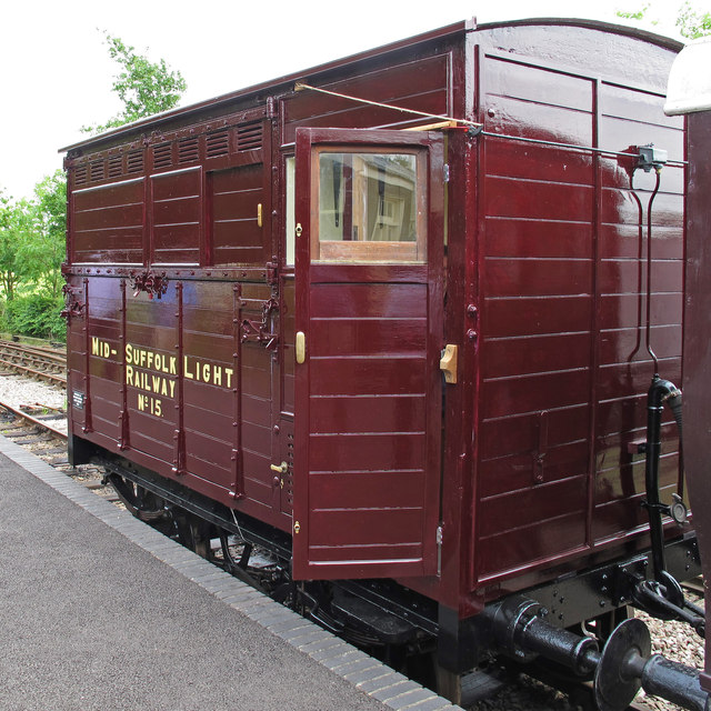 Horsebox, Mid Suffolk Light Railway, Wetheringsett