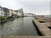 TQ8109 : Pool on Hastings Seafront by Paul Gillett