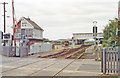TF0645 : Sleaford Station, 1992 by Ben Brooksbank