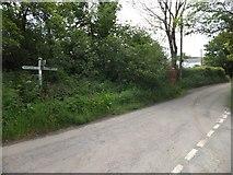 SX6596 : Taw Green Cross by David Smith