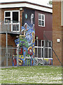 ST5768 : School mural by Neil Owen