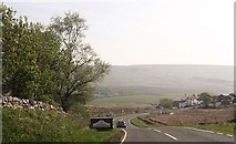 SD7992 : Entering North Yorkshire on A684 by John Firth