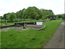 SP7256 : Lock 9, Grand Junction Canal - Northampton Arm by Mr Biz