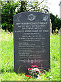 TG1700 : 389th Bombardment Group memorial at Hethel church by Evelyn Simak