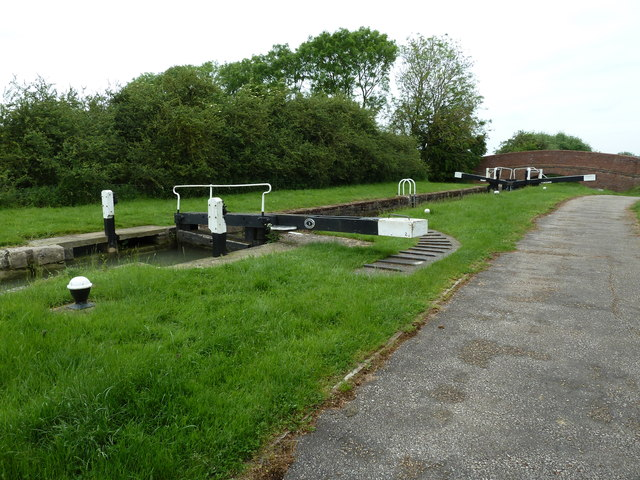Lock 2, Grand Junction Canal - Northampton Arm