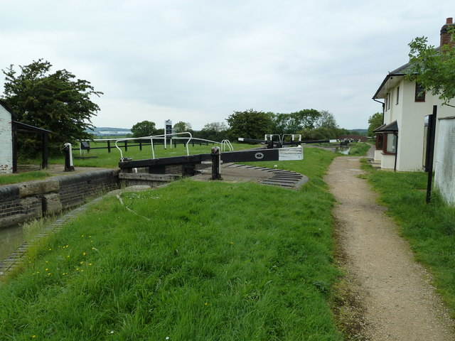 Lock 1, Grand Junction Canal - Northampton Arm