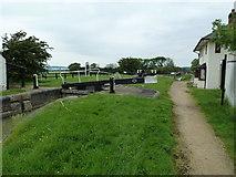 SP7256 : Lock 1, Grand Junction Canal - Northampton Arm by Mr Biz