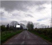 NN9328 : Road junction near Bridge Of Buchanty by Stanley Howe