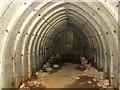TG1600 : Air raid shelter on Site 5, RAF Hethel by Evelyn Simak