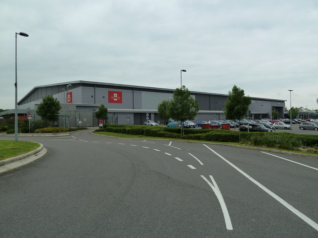 Royal Mail South Midlands Mail Centre