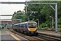 SJ7898 : First TransPennine Class 185, 185133, Eccles railway station by El Pollock