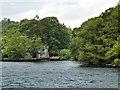 NY3701 : The Double Boathouse at Wray Castle by David Dixon