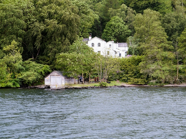 Windermere West Shore, Belle Grange and Boathouse