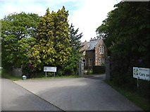 SX6598 : Entrance to North Wyke research station by David Smith