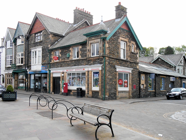 Windermere Post Office, Crescent Road