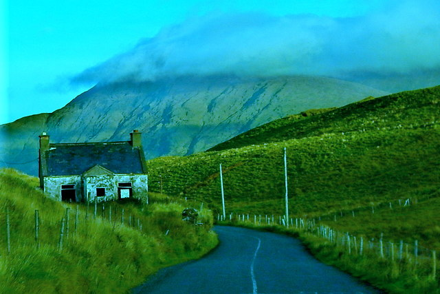 County Galway - Stone Building along R336
