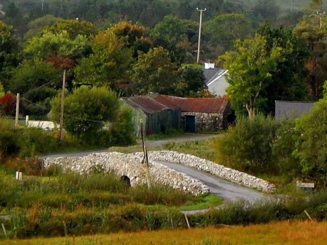 "County Galway - ""Quiet Man' Bridge at Leam"