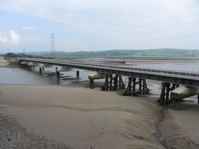 The new Loughor Viaduct