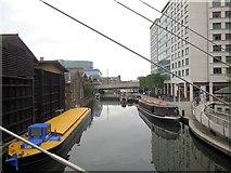 TQ2681 : Grand Union Canal at Paddington by Paul Gillett