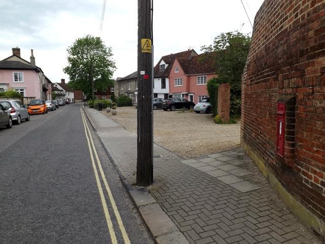 B1115 Friars Street & Friars Street Victorian Postbox