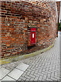 TL8741 : Friars Street Victorian Postbox by Adrian Cable