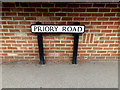 TL8642 : Priory Road sign by Adrian Cable