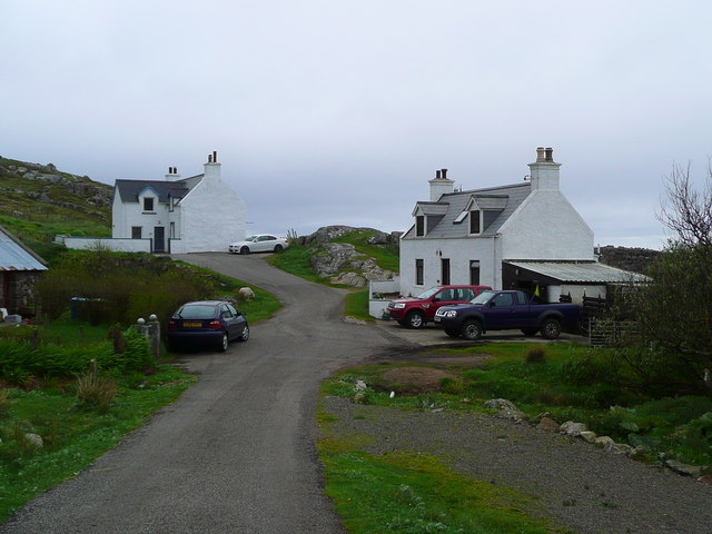 Houses at Polin