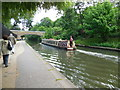 TQ2783 : Narrowboat on Regent's canal by Paul Gillett
