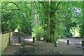 TQ1954 : Bridleways off Mill Way car park by Hugh Craddock