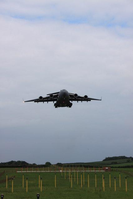 Landing lights for RAF Brize Norton
