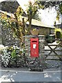 SD3795 : GR Postbox, Near Sawrey by David Dixon