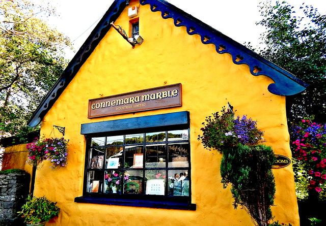 County Galway - Moycullen - Connemara Marble Craft Shop & Art Gallery