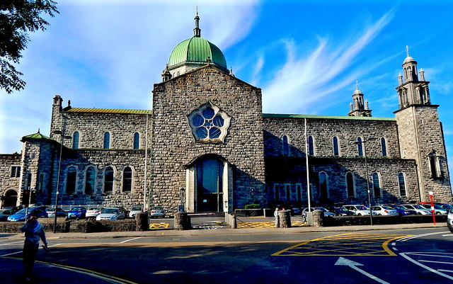 Galway City - Earl's Island - Galway Cathedral - East Side & East Wing