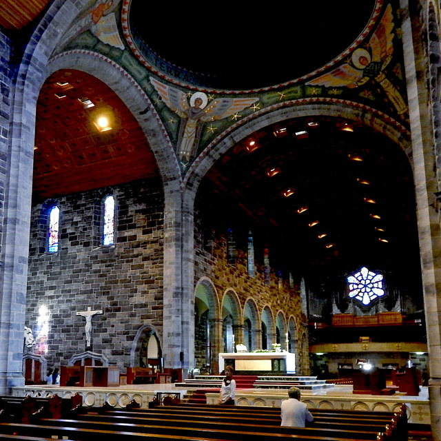 Galway City - Galway Cathedral Interior - West & North Wings