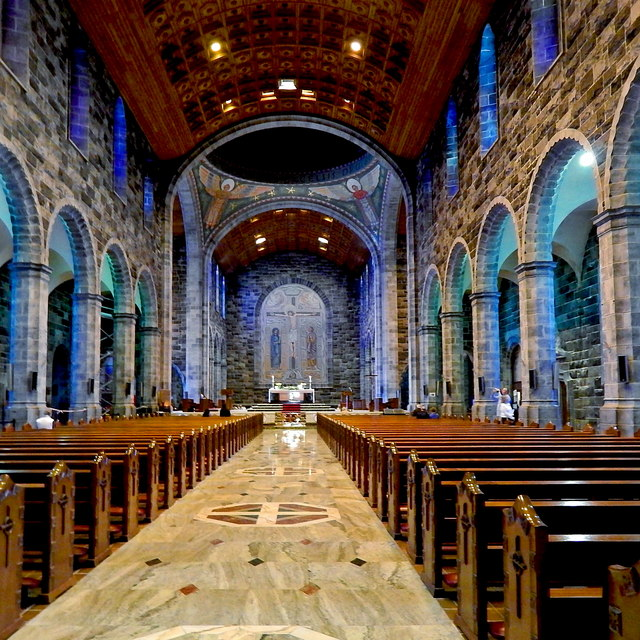 Galway City - Galway Cathedral Interior - Lengthwise North-to-South View