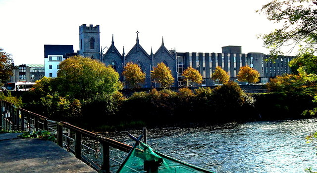 Galway City - St Vincent's Convent of Mercy along Newtownsmith Street