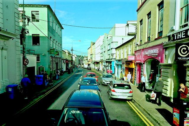 Galway City - Eglinton Street - La Femme & The Cellar Bar