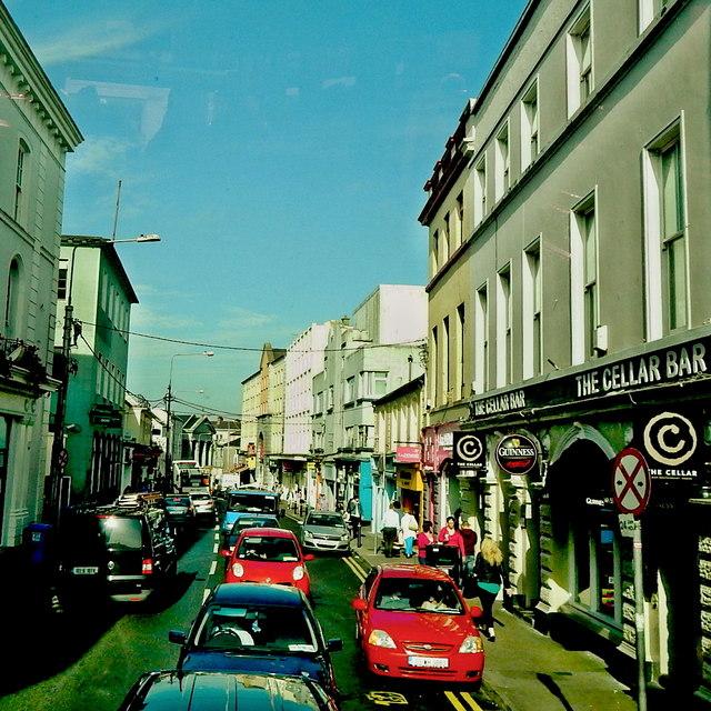 Galway City - Eglinton Street - The Cellar Bar & La Femme