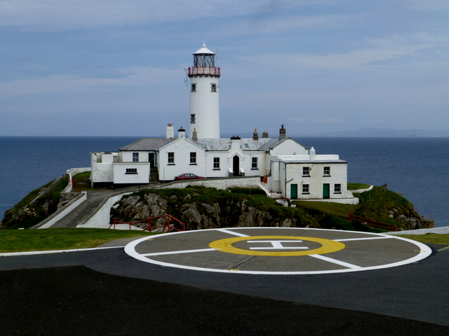 Helicopter pad, Fanad Head