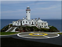 C2347 : Helicopter pad, Fanad Head by Kenneth  Allen