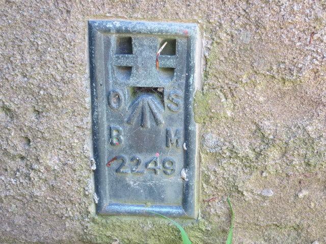 Ordnance Survey Flush Bracket 2249