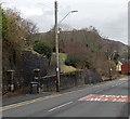 SN7305 : Entrance path to St Mary's Church, Ynysmeudwy by Jaggery