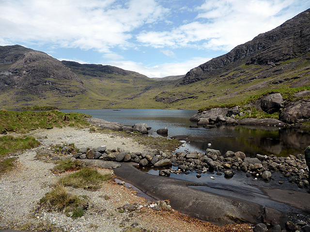 The Scavaig River and Loch Coruisk