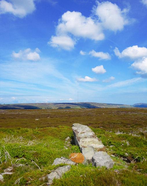 Boundary Stone Cairn, Laskill Pasture Moor