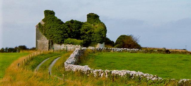 Derelict Structure along N67 just northeast of Dunguaire Castle