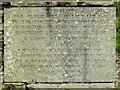SD4199 : Arthur Heywood Memorial Stone (1), Orrest Head by David Dixon