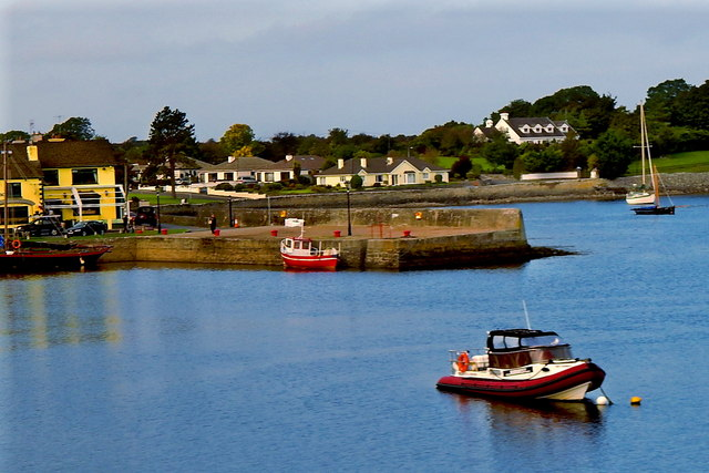 County Galway - Kinvarra Town Harbour along N67