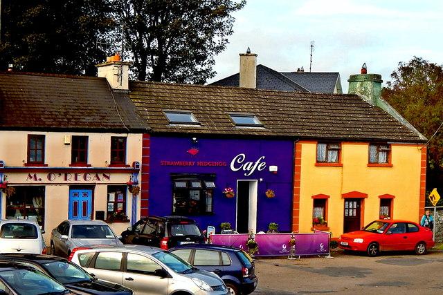 County Galway - Kinvarra Harbour Area Buildings off N67