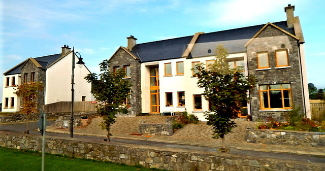 County Galway - Two Dwelling Units Under Construction along N67