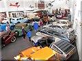 SD3585 : The Lakeland Motor Museum at Backbarrow by David Dixon